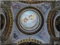 SE7170 : Painted Ceiling, Castle Howard, Yorkshire by Christine Matthews