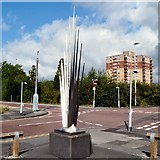 SJ9398 : Ashton Munitions Explosion Memorial by Gerald England