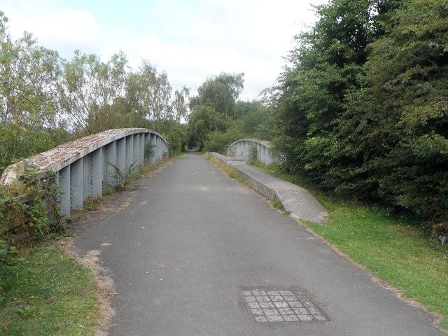 Hadrian's Wall Path where it crosses Lemington Road