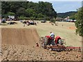 TQ7817 : Discing at Rural Past Times Country Fair by Oast House Archive