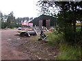 NJ5601 : Westerton Wood sawmill by Stanley Howe