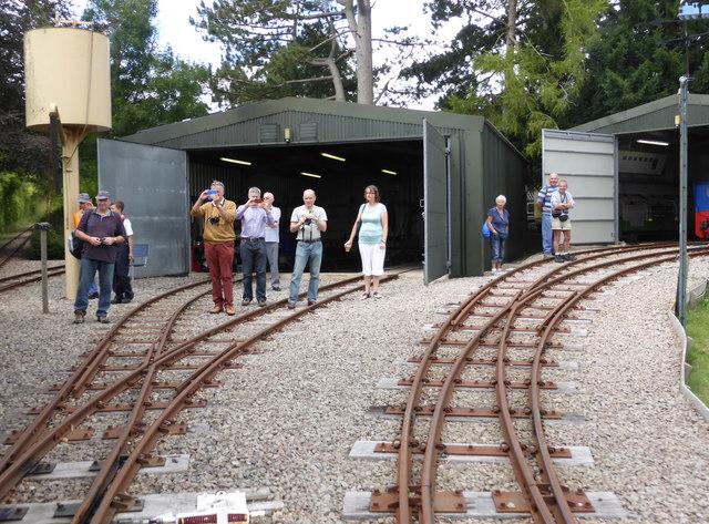 Beeches Light Railway - engine sheds