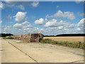 TM1780 : Fields by Billingford Wood by Evelyn Simak