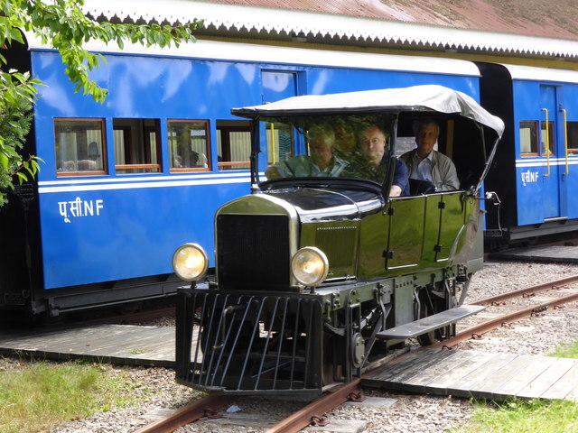 Beeches Light Railway - interesting vehicle