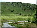 SN8355 : Cwm Irfon by Llannerch-yrfa, Powys by Roger  Kidd