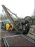 SO9969 : Crane - canal depot by Chris Allen