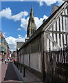 SK5804 : Leicester Guildhall and Cathedral by Mat Fascione