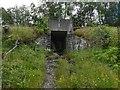 NN2903 : Underpass below West Highland Line by Lairich Rig