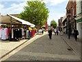 SK3871 : Market Place, West Bars by David Dixon
