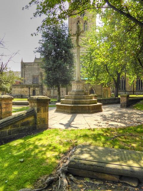 Cross in St Mary's Churchyard