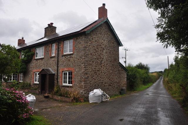 North Devon : Country Lane