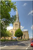SK3871 : Church of St Mary and All Saints, Chesterfield by David Dixon