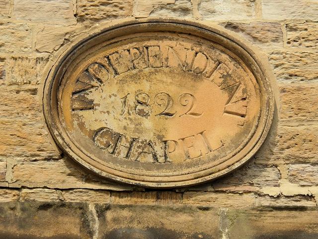 Independent Chapel Plaque