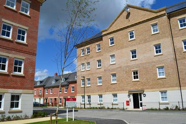 New housing at the Ratio development, Slade Green