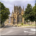 SK9771 : Lincoln Cathedral, Eastern Façade by David Dixon