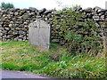 SD7466 : Boundary stone, Austwick / Lawkland by Humphrey Bolton
