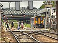 SK9770 : High Street Rail Crossing, Lincoln by David Dixon