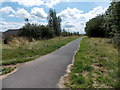 ST2998 : Footpath and cycleway south of Churchwood, Pontypool by Jaggery