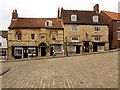 SK9771 : Jew's House and Jew's Court, Steep Hill by David Dixon