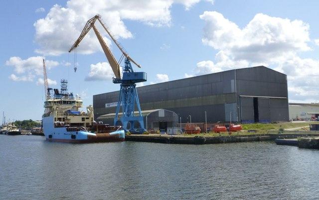 A&P Tyne - a ship repair and conversion company