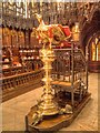 SK9771 : Eagle Lectern, Lincoln Cathedral by David Dixon