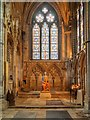 SK9771 : Lincoln Cathedral Interior by David Dixon