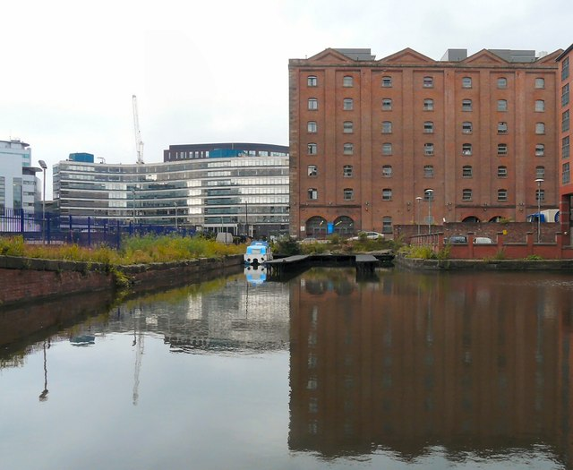 The end of the Ashton Canal