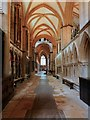SK9771 : Lincoln Cathedral, North Aisle by David Dixon
