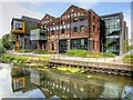 SK9770 : Lincoln University, The Great Central Warehouse by David Dixon