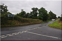 SS5726 : North Devon : Week End Lane Cross by Lewis Clarke