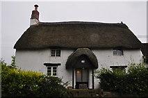 SS5726 : North Devon : Little Thatch by Lewis Clarke