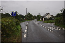 SS5726 : Chapelton : The A377 by Lewis Clarke