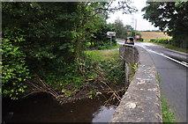 SS5726 : Chapelton : Langham Lake & A377 by Lewis Clarke
