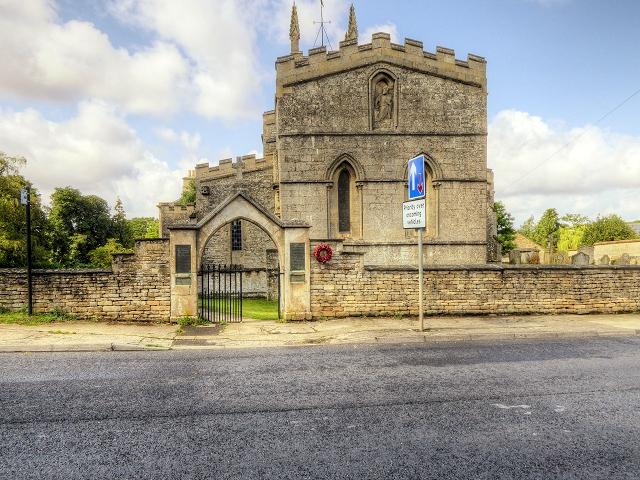 Great Casterton Church and War Memorial