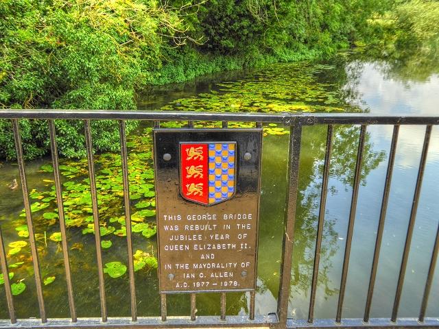 George Bridge across the River Welland in Stamford