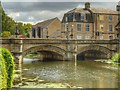 TF0306 : River Welland, Town Bridge at Stamford by David Dixon
