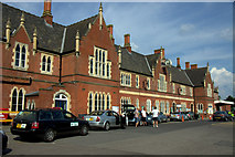 SO5140 : Hereford Railway Station by Mike Pennington