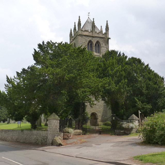 Churchyard gateway, Laxton