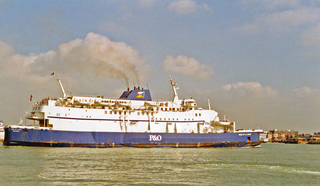Portsmouth To Le Havre >> P O Ferries Pride Of Le Havre Leaving C Ben Brooksbank