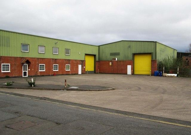 Industrial units at Severnside Business Park, Severn Road, Stourport-on-Severn