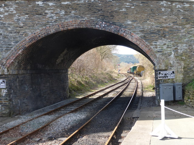 Bridge, signal and siding