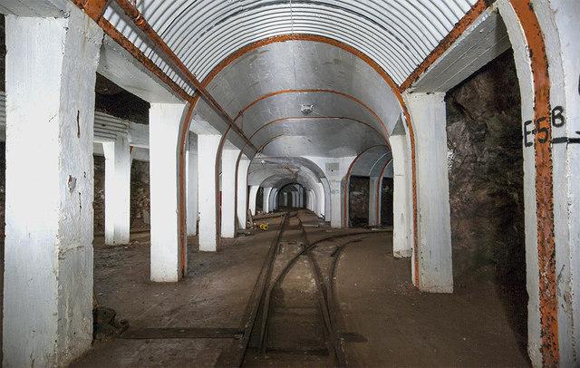 RAF Fauld underground munitions storage depot