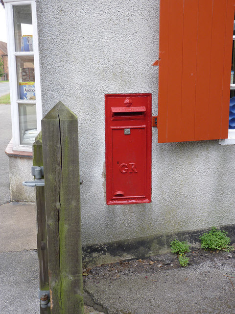 Laxton Post Office postbox NG22 107