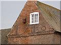 SK7167 : The gable of Lilac Farmhouse by Alan Murray-Rust