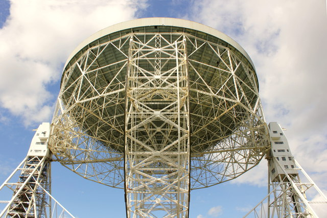 The Lovell Telescope at Jodrell Bank