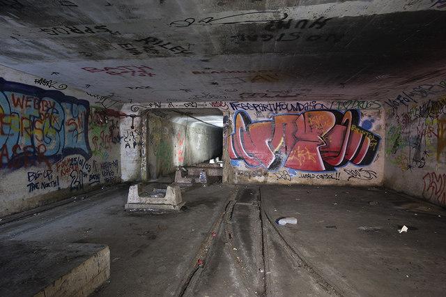 Farleigh Down Tunnel sidings
