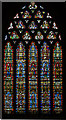ST5545 : East Window, Wells Cathedral by Julian P Guffogg