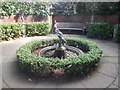 SZ0589 : Water Feature - Compton Acres by Paul Gillett