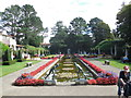 SZ0589 : Italian Garden, Compton Acres by Paul Gillett