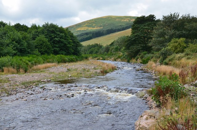 The College Burn at Hethpool